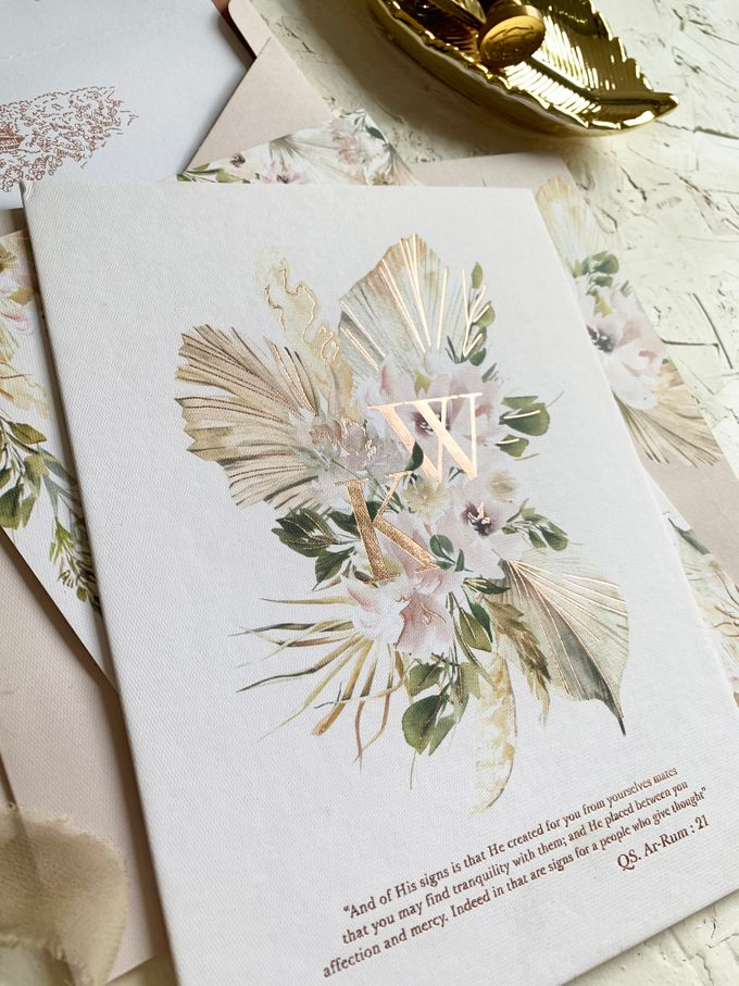 Magical Garden by Trouvaille Invitation - 005