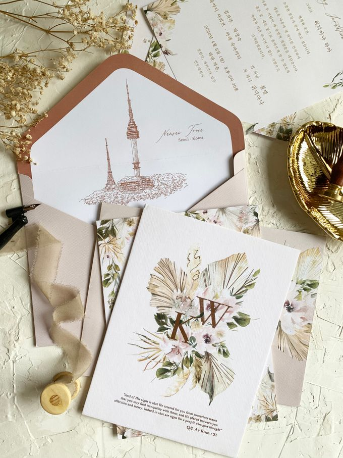 Magical Garden by Trouvaille Invitation - 006