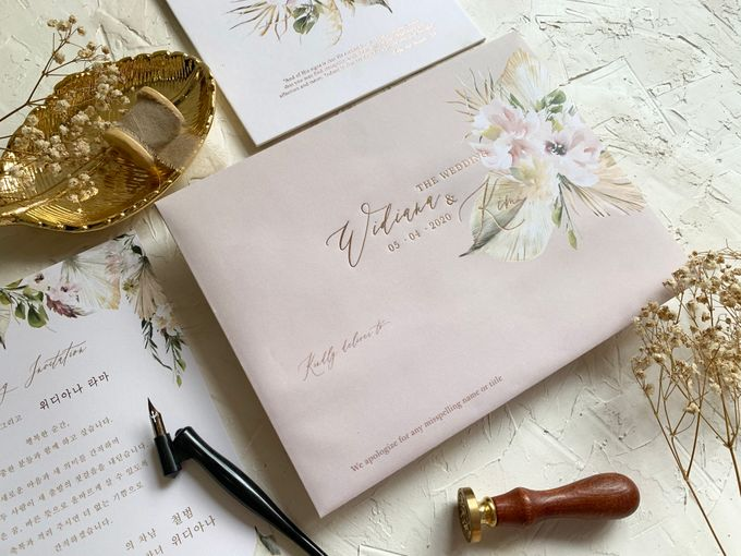 Magical Garden by Trouvaille Invitation - 007