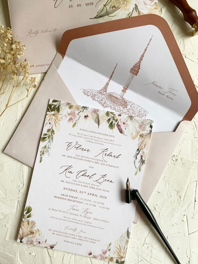 Magical Garden by Trouvaille Invitation - 008