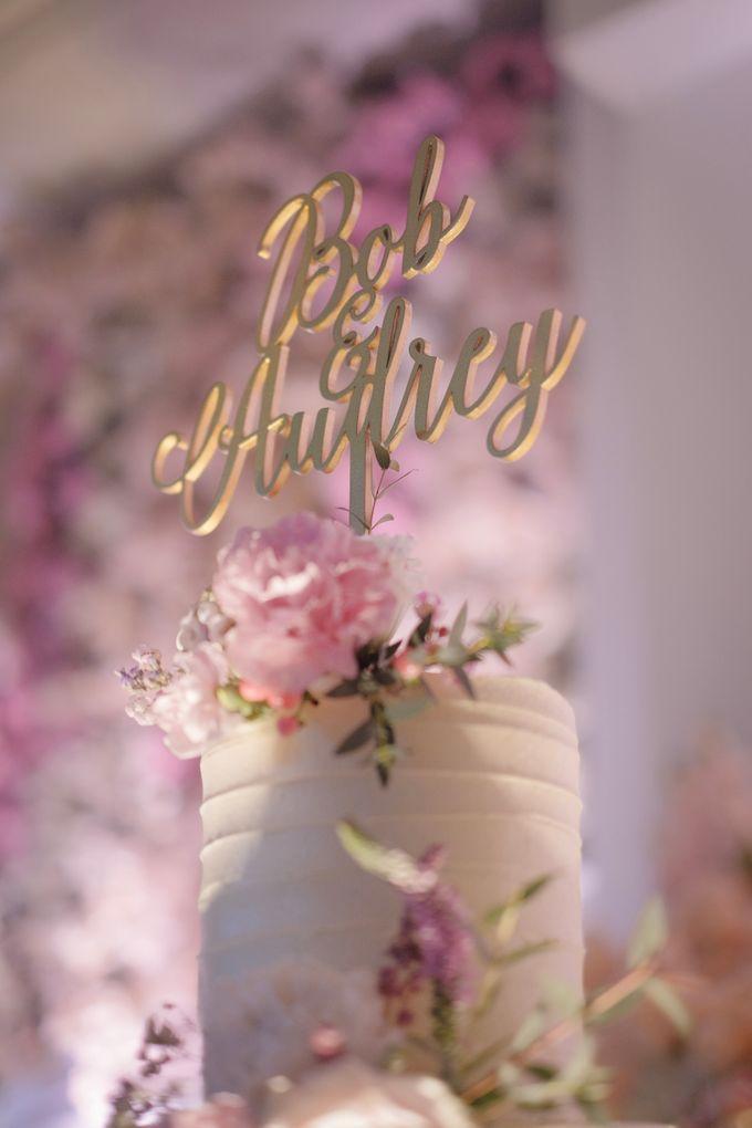 Bob & Audrey Wedding Cake by PYARA - 001