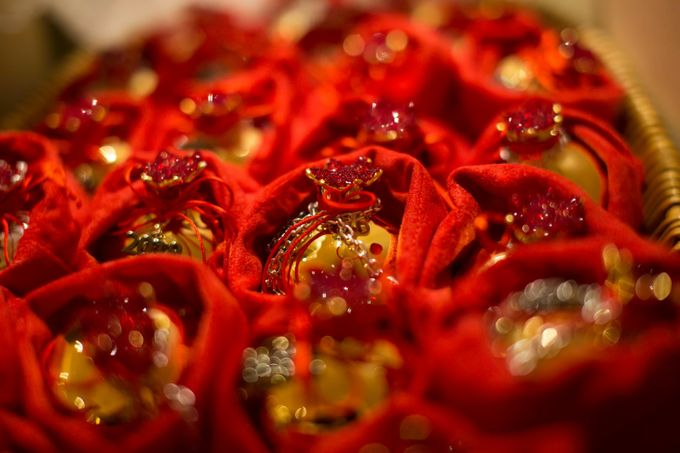 Luxury Christmas Red & Gold Wedding by Diamond Events - 010
