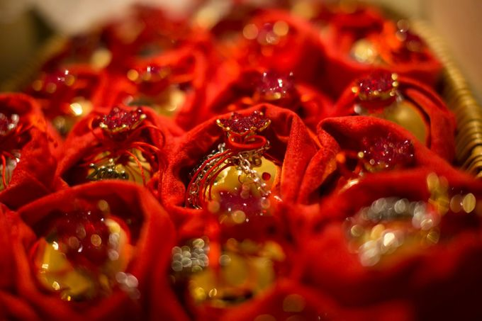 Luxury Christmas Red & Gold Wedding by Diamond Events - 014