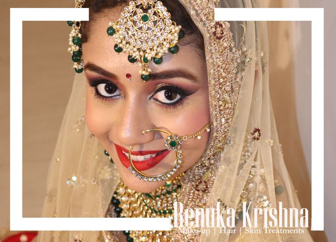 Makeup by Renuka Krishna - 016