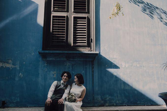 Penang prewedding street photography by Amelia Soo photography - 044
