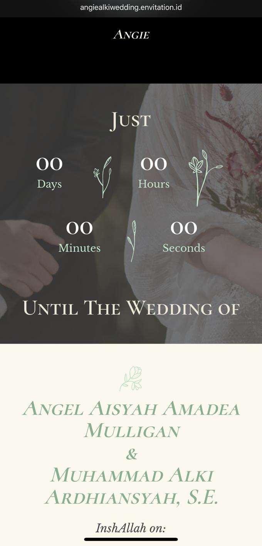 Alki & Angie Wedding by Envitation Planner - 010