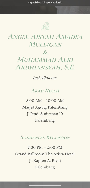 Alki & Angie Wedding by Envitation Planner - 011