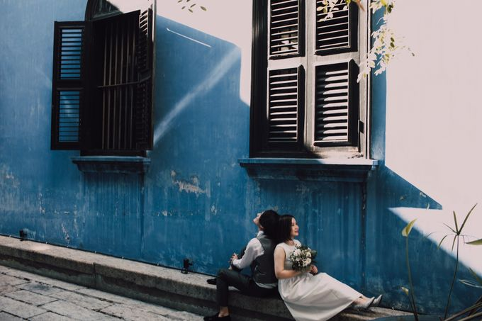 Penang prewedding street photography by Amelia Soo photography - 045