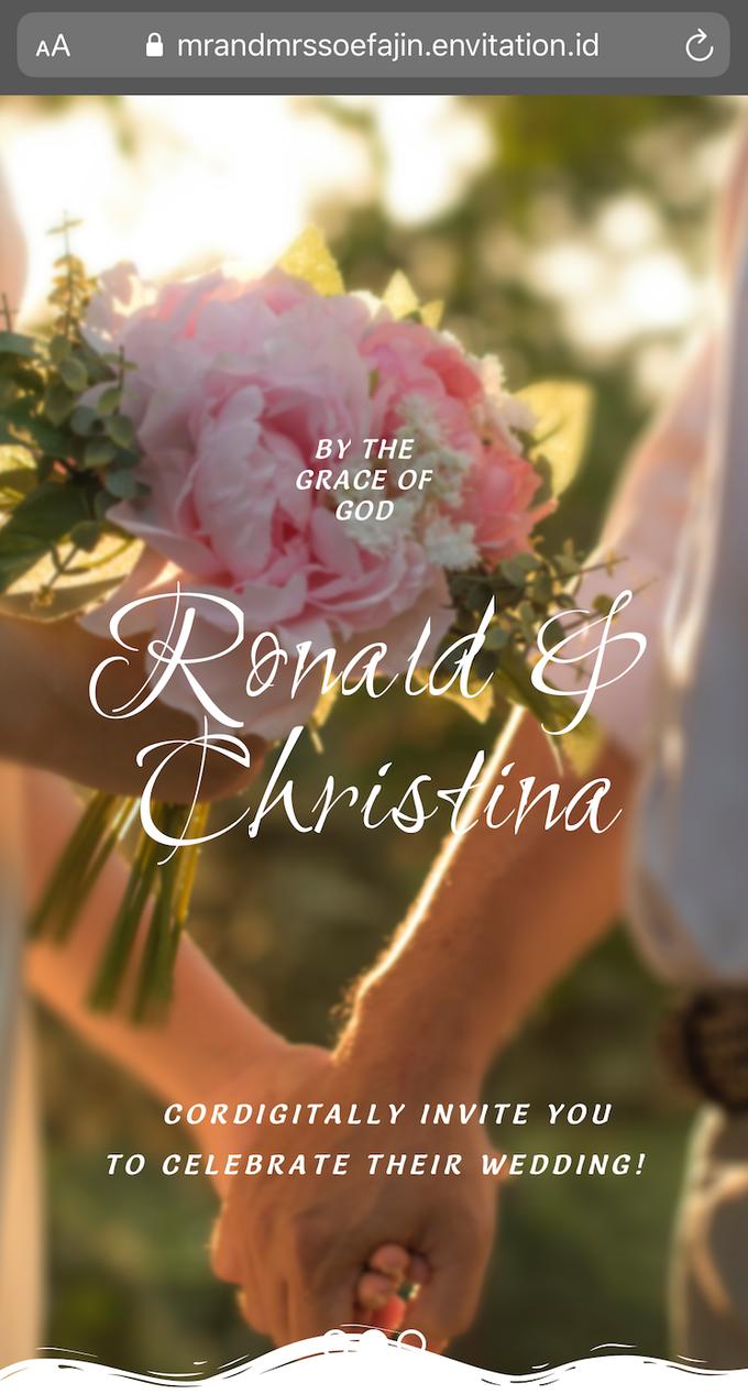 Ronald & Christina Wedding by Envitation Planner - 002