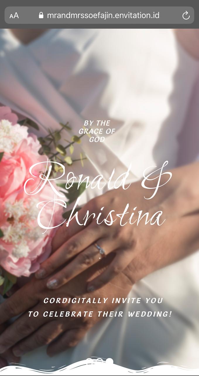 Ronald & Christina Wedding by Envitation Planner - 003