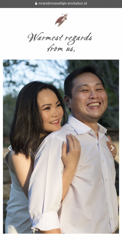 Ronald & Christina Wedding by Envitation Planner - 007