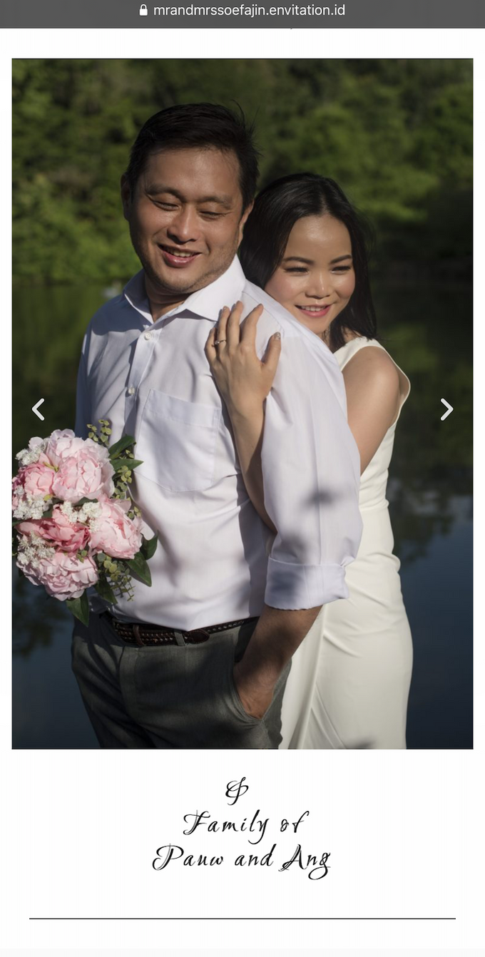 Ronald & Christina Wedding by Envitation Planner - 008