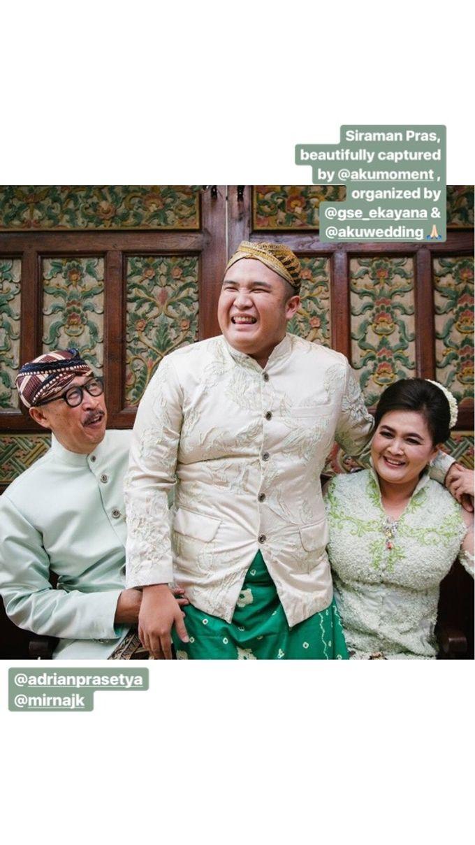 Mirna & Pras Wedding by Akuwedding - 008