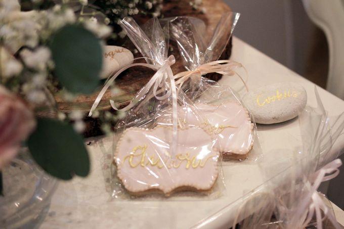 Romantic Dessert Table by Gordon Blue Cake - 003