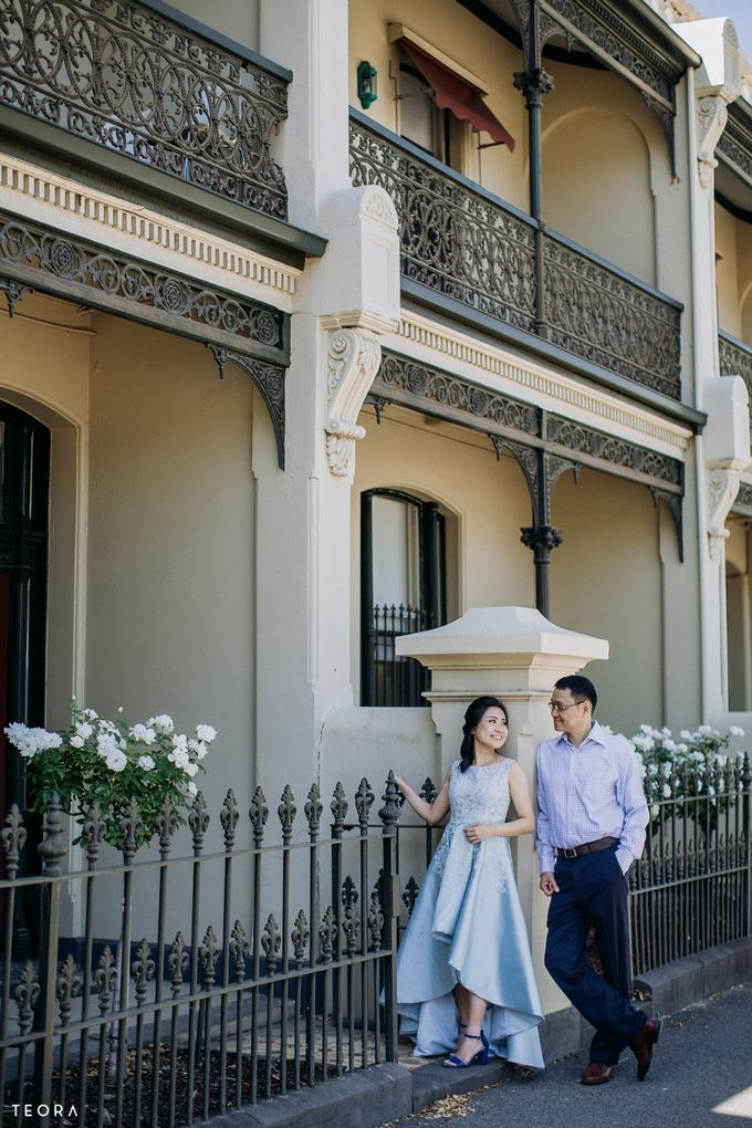 Henry & Milla Melbourne Prewedding by attelia bridal - 020