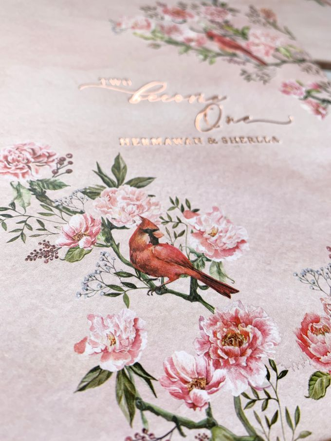 Tales of Peonies by Trouvaille Invitation - 004