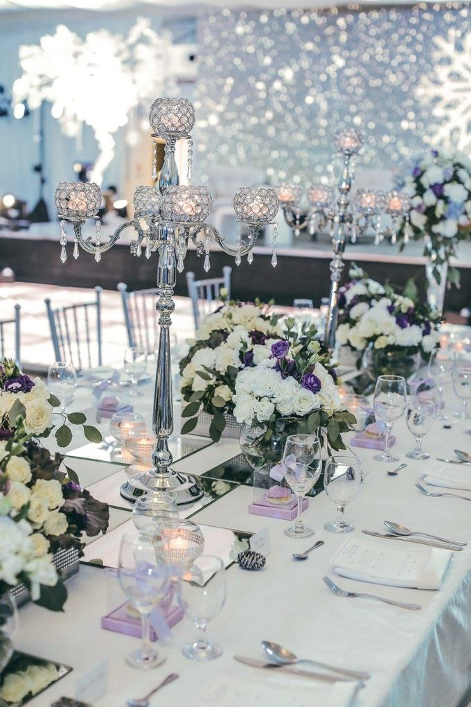 Reception Styling by Natural Art Flowers and Decors - 016