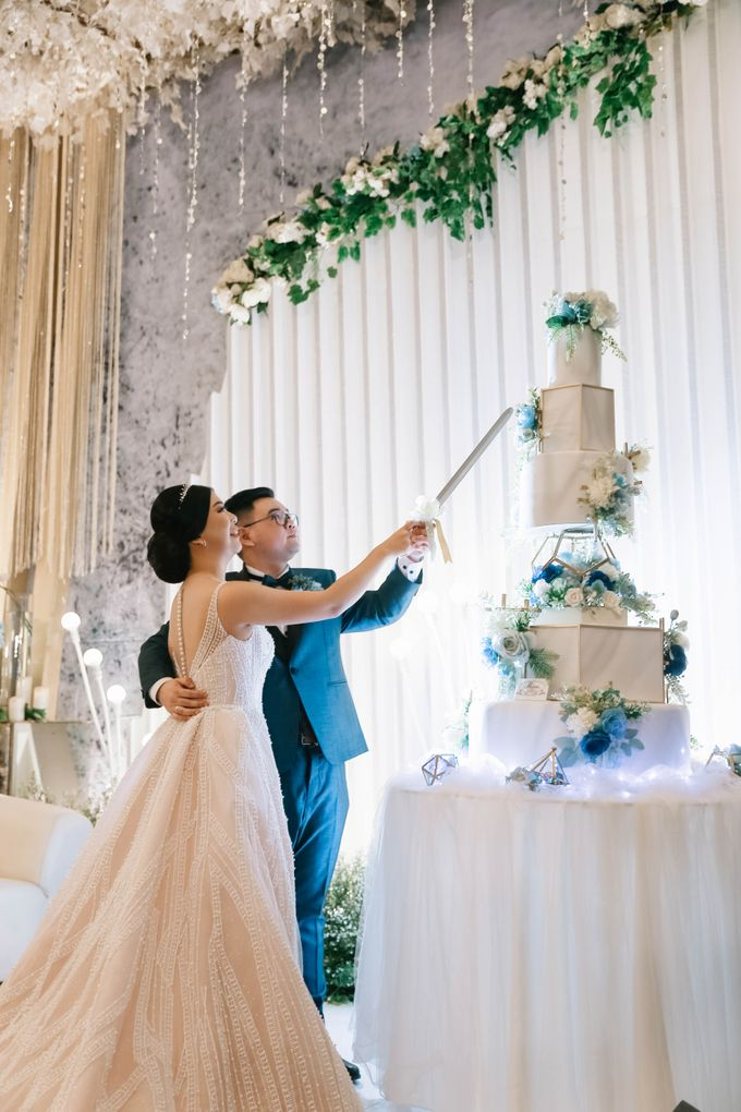 The Wedding Of Edwin & Raissa by delazta wedding coordinator - 031