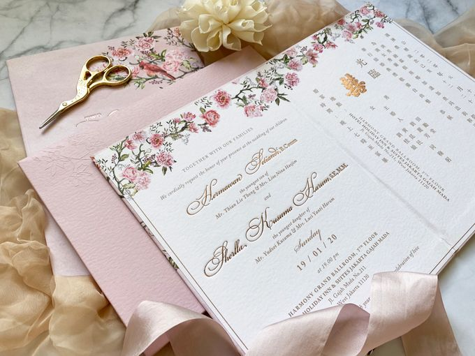 Tales of Peonies by Trouvaille Invitation - 005