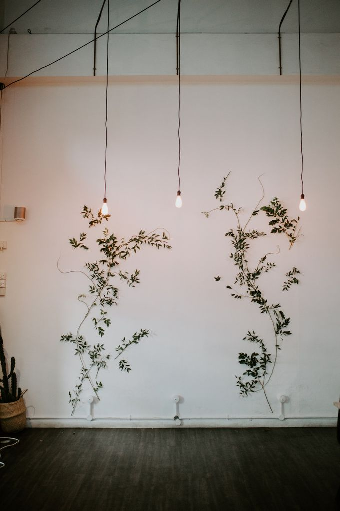 Botanical industrial intimate wedding by Eufloria - 004