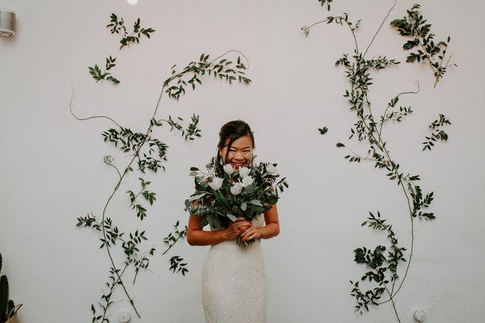 Botanical industrial intimate wedding by Eufloria - 006
