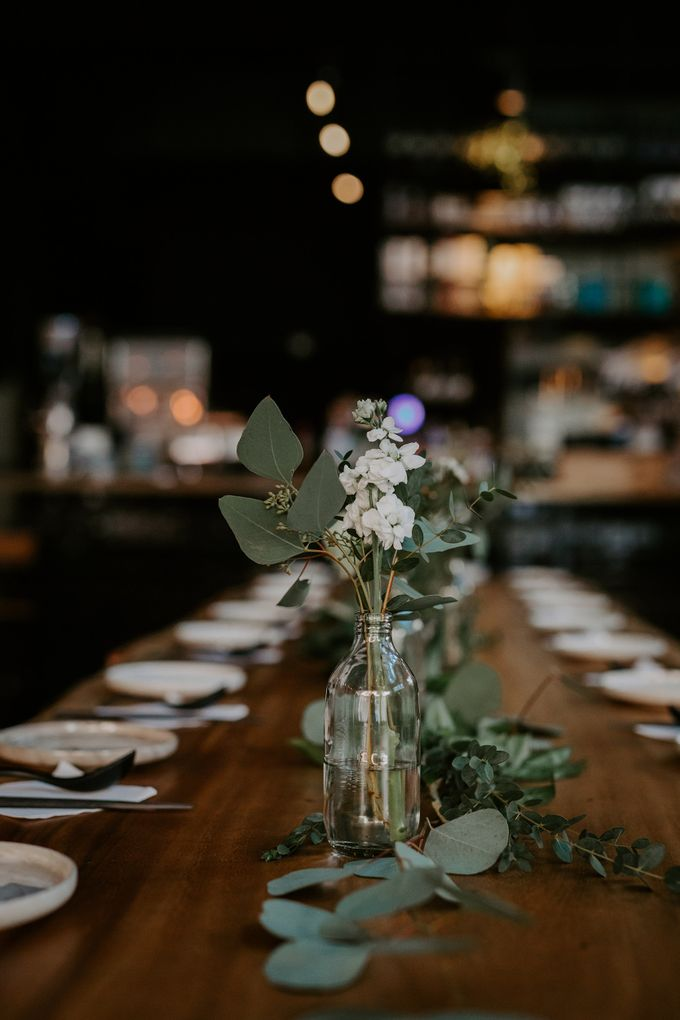 Botanical industrial intimate wedding by Eufloria - 007