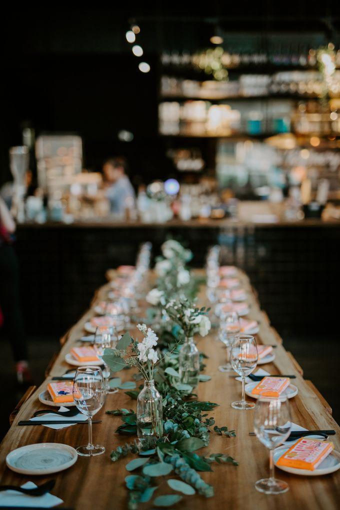 Botanical industrial intimate wedding by Eufloria - 008