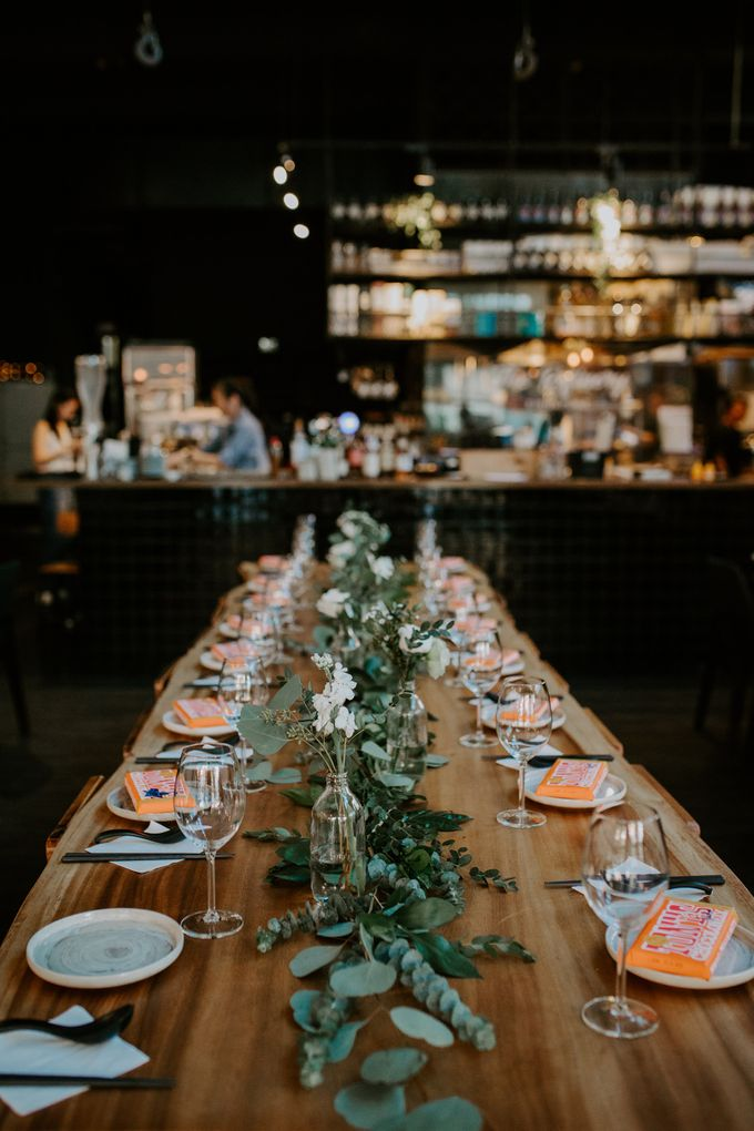 Botanical industrial intimate wedding by Eufloria - 009