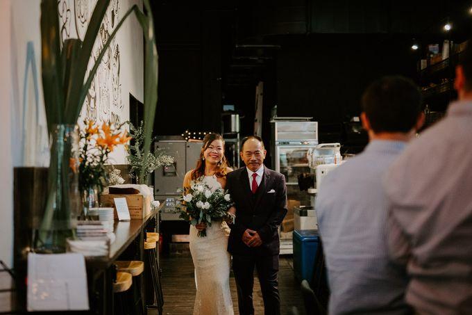 Botanical industrial intimate wedding by Eufloria - 010