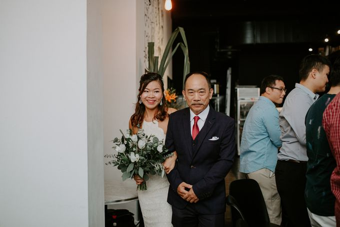 Botanical industrial intimate wedding by Eufloria - 011