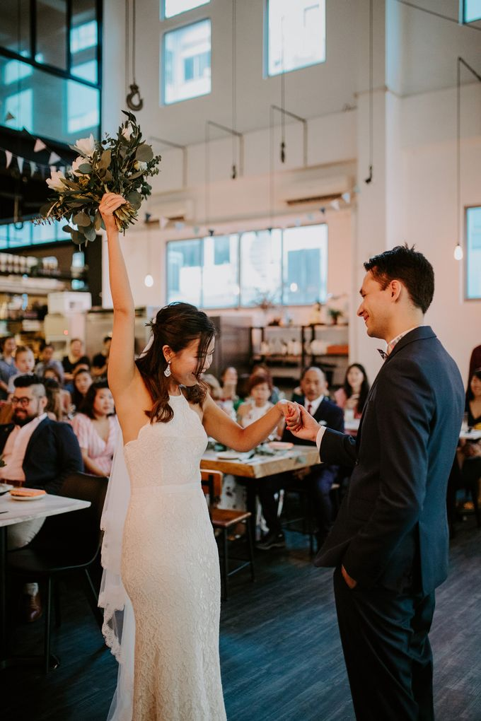 Botanical industrial intimate wedding by Eufloria - 012