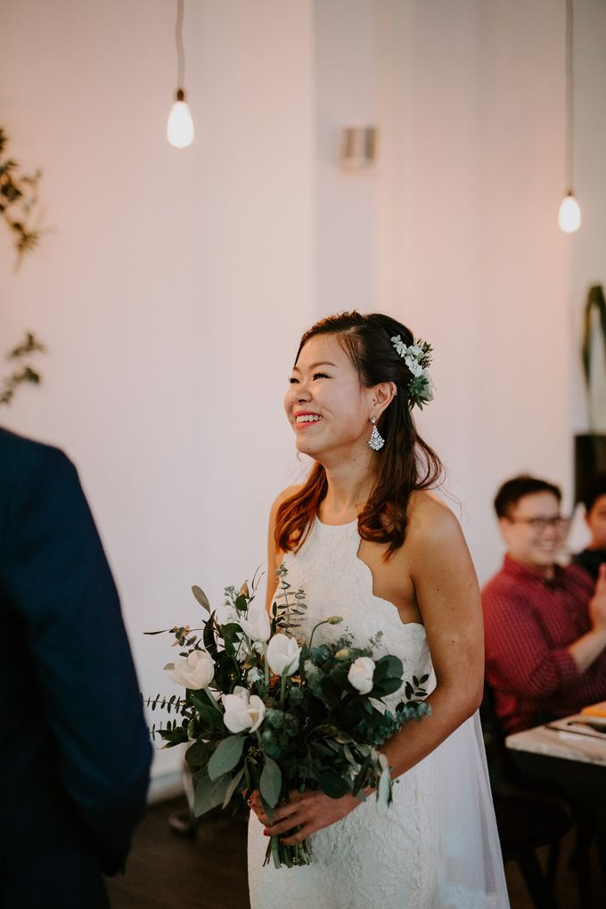 Botanical industrial intimate wedding by Eufloria - 013