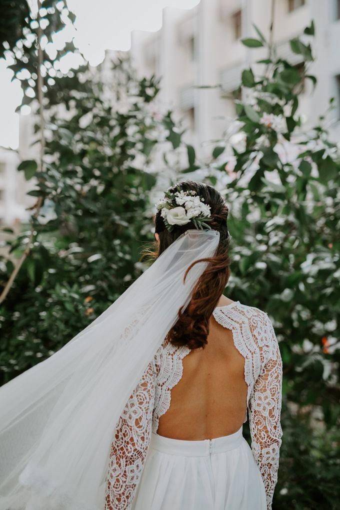 Botanical industrial intimate wedding by Eufloria - 014