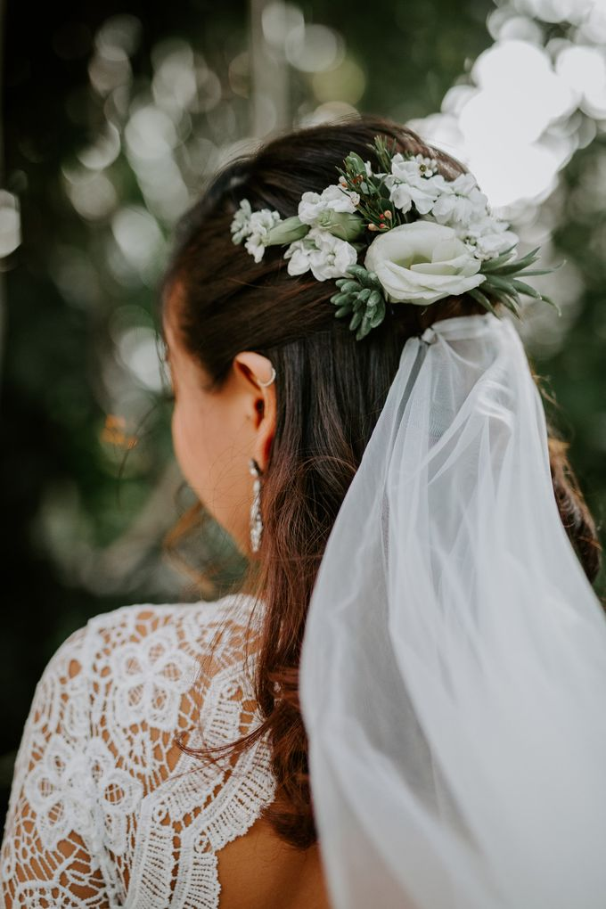 Botanical industrial intimate wedding by Eufloria - 015