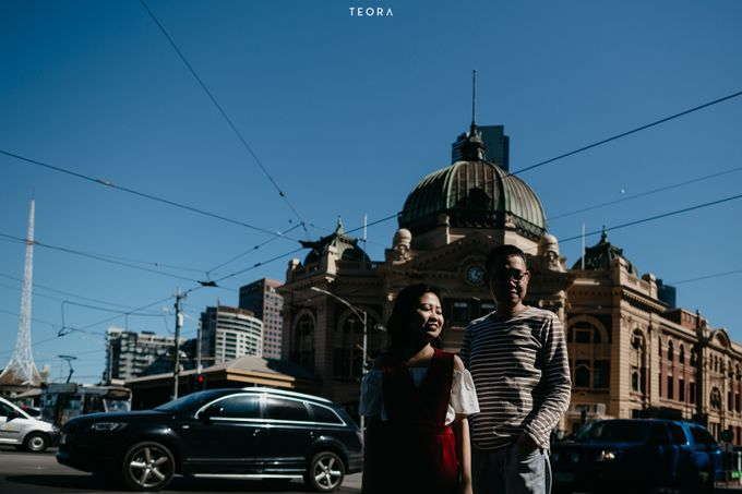 Henry & Milla Melbourne Prewedding by Dewi Tan Makeup - 042