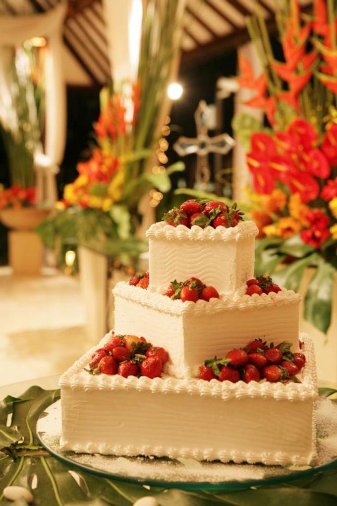 Wedding Cake by Meliá Bali Indonesia - 002