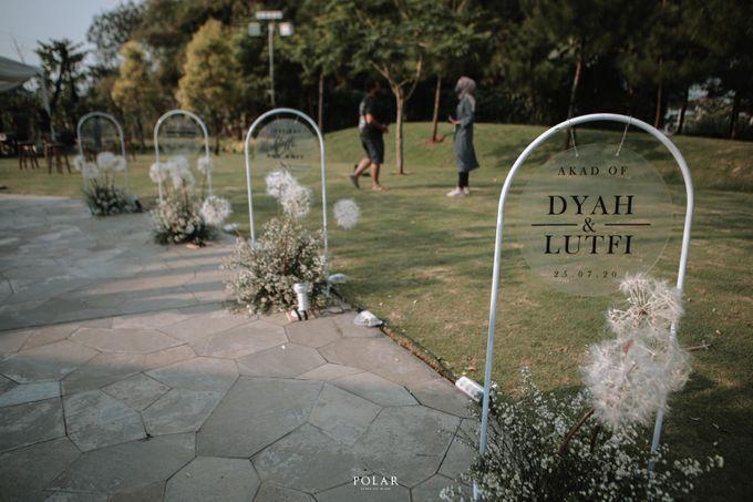 Dyah & Luthfi Wedding Decoration by Valentine Wedding Decoration - 045