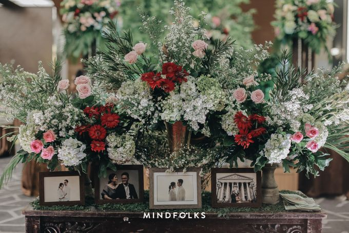 The Wedding of Danis & Monic by  Menara Mandiri by IKK Wedding (ex. Plaza Bapindo) - 005