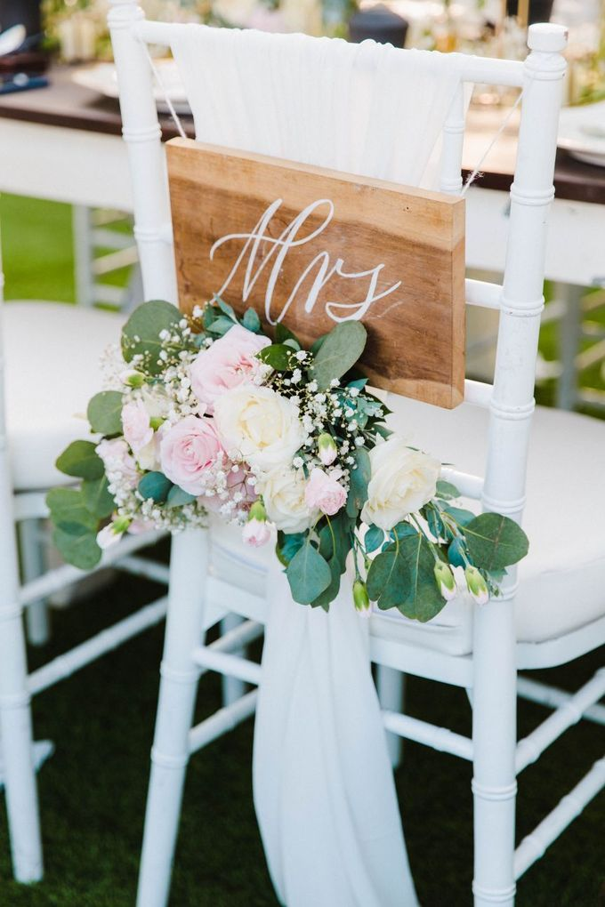 Alfresco greenery dinner reception at Opia Bali by Silverdust Decoration - 016