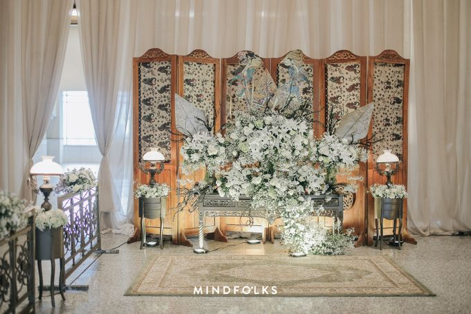 Foyer Decoration Inspiration for New Normal Wedding by Skenoo Hall Emporium Pluit by IKK Wedding - 009