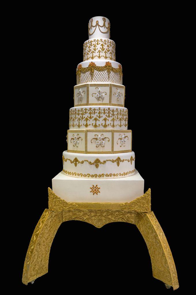 The Wedding Cake by Damai Wedding Cake by Damai Wedding Cake - 004