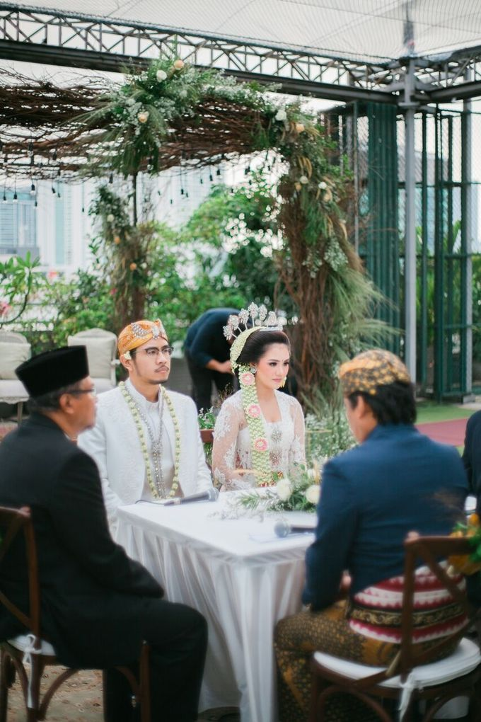 The Wedding of Ayu & Kevin by KAIA Cakes & Co. - 035