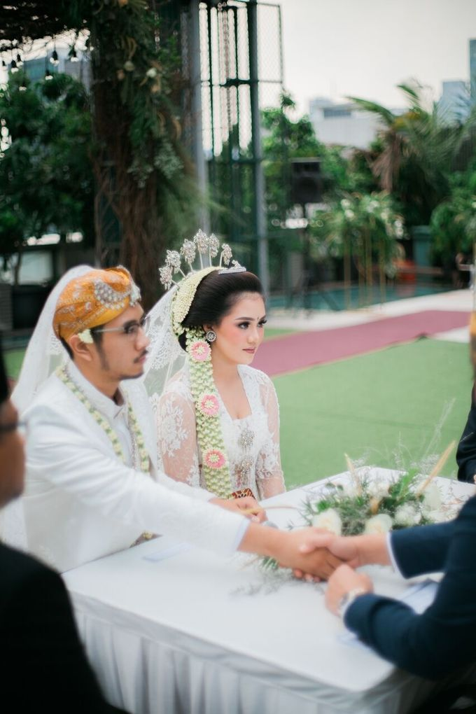 The Wedding of Ayu & Kevin by KAIA Cakes & Co. - 037