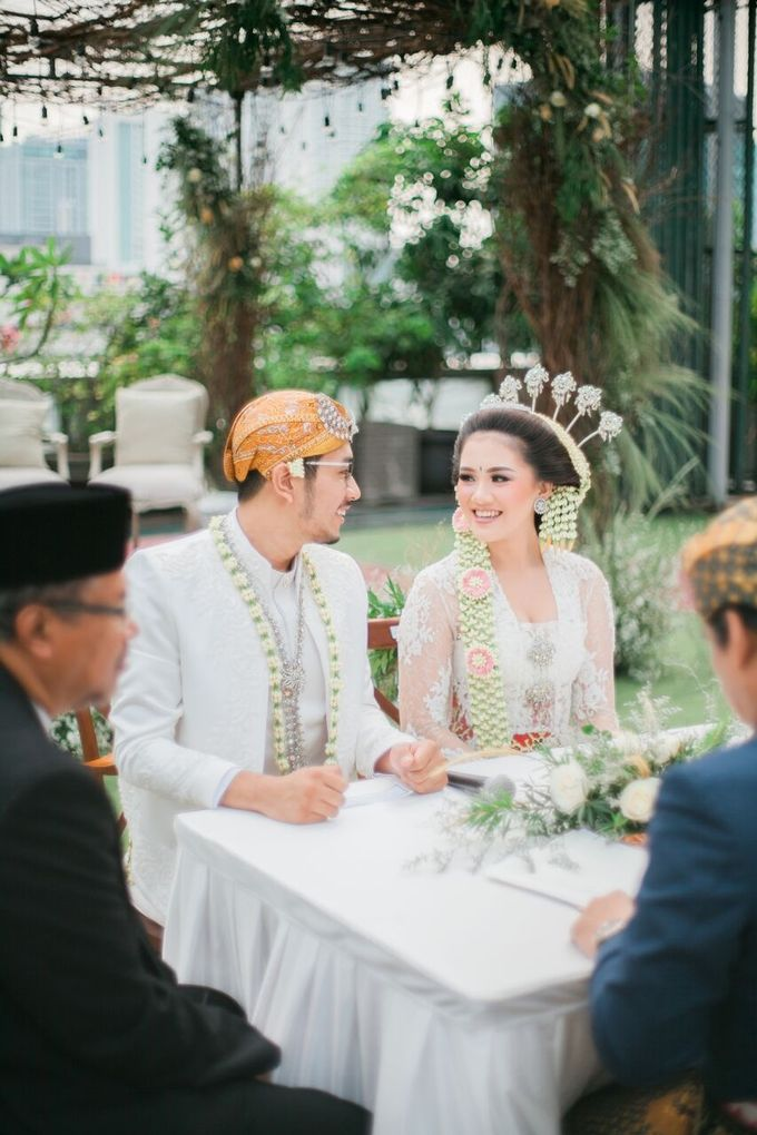The Wedding of Ayu & Kevin by KAIA Cakes & Co. - 006