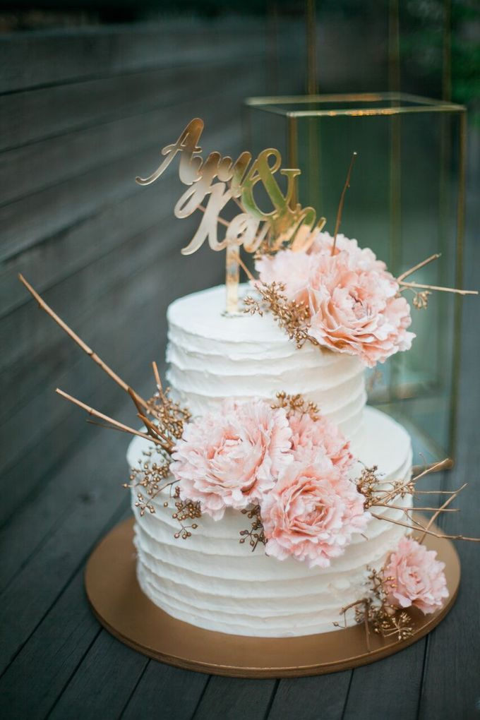The Wedding of Ayu & Kevin by KAIA Cakes & Co. - 038