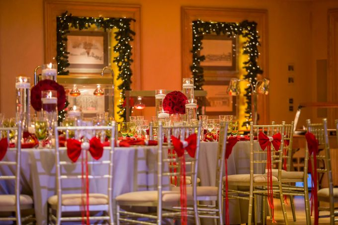 Luxury Christmas Red & Gold Wedding by Diamond Events - 029