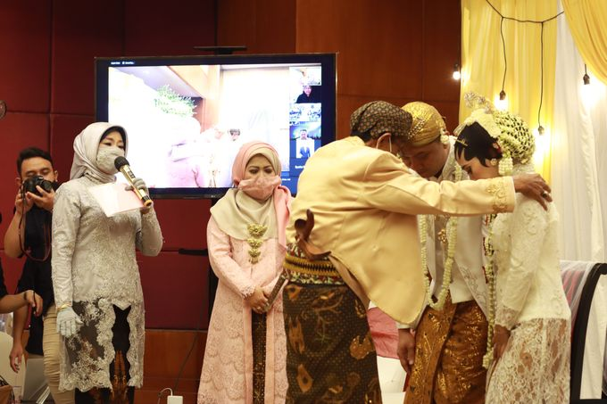 New Normal Online Wedding Jakarta - Double V Entertainment by Double V Entertainment - 037