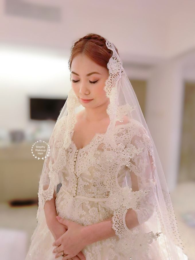 Thailand Lynn Victorian Wedding Day by Stephy Ng Makeup and Hair - 001