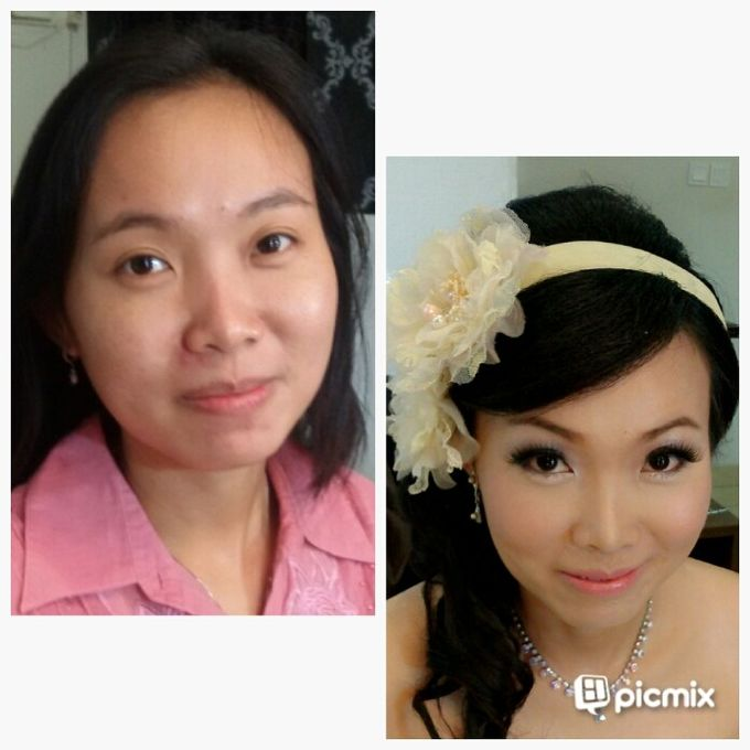 before & after by Xin-Ai Bride - 002