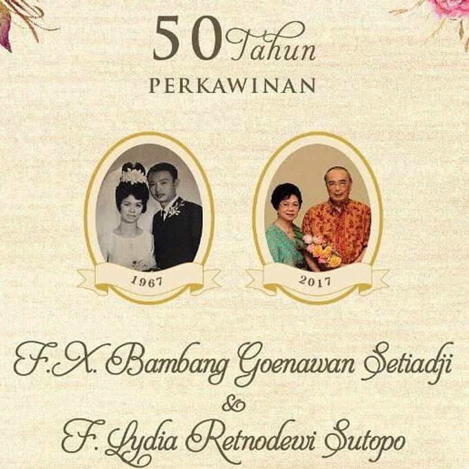50th Wedding Anniversary Of Mr.Bambang & Mrs.Lidya by FIVE Seasons WO - 004